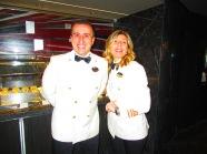 Hotel Director Giuseppe Maresca & YC Director Rosalia Scaldaferri