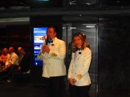 Master Marco Massa and YC Director Rosalia Scaldaferri