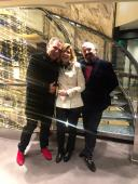 With YC Director Rosalia Scaldaferri